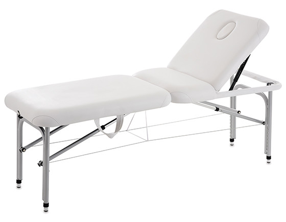 Esthetix portable couch, white