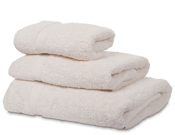 Serenity hand towel, ivory