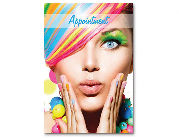 Appointment cards, rainbow (100)