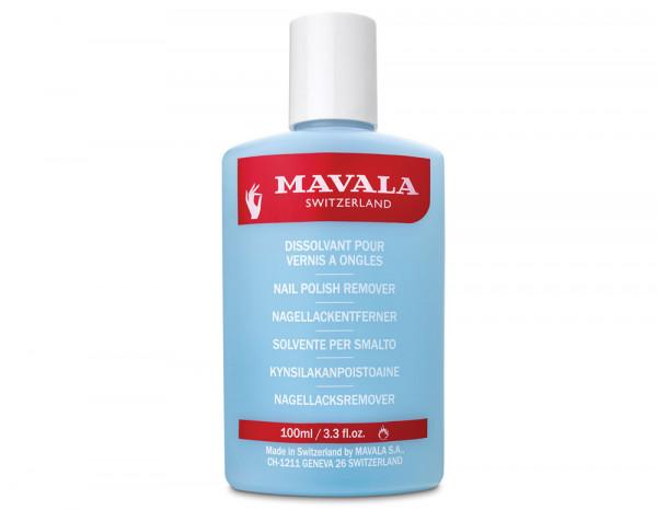 Mavala retail enamel remover 100ml, blue