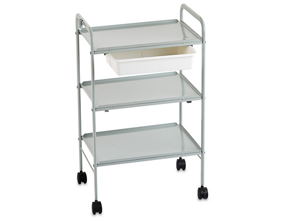 Esthetix compact trolley, grey