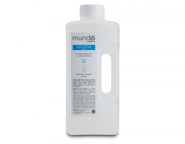 Mundo file and tool disinfectant spray 2L