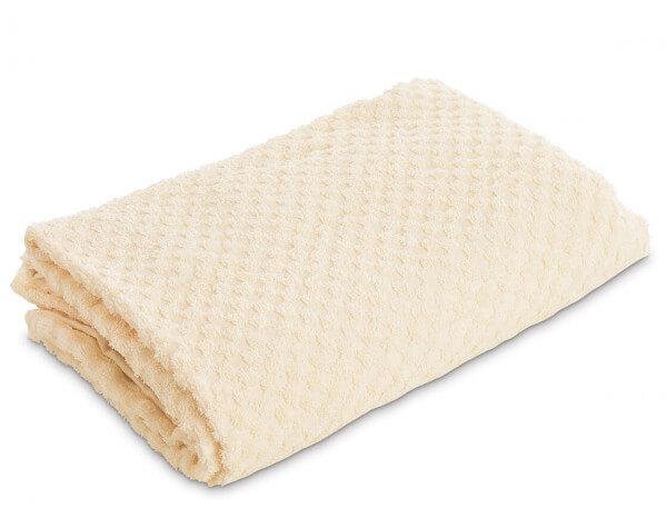 Serenity bath sheet, ivory