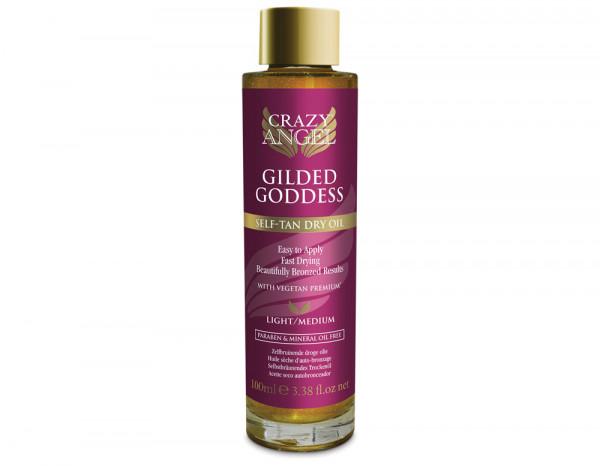 Crazy Angel gilded goddess self-tan dry oil 100ml