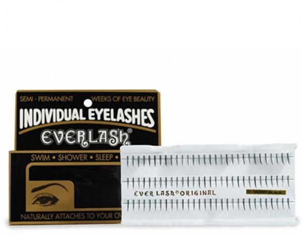 Everlash individual lashes regular short black