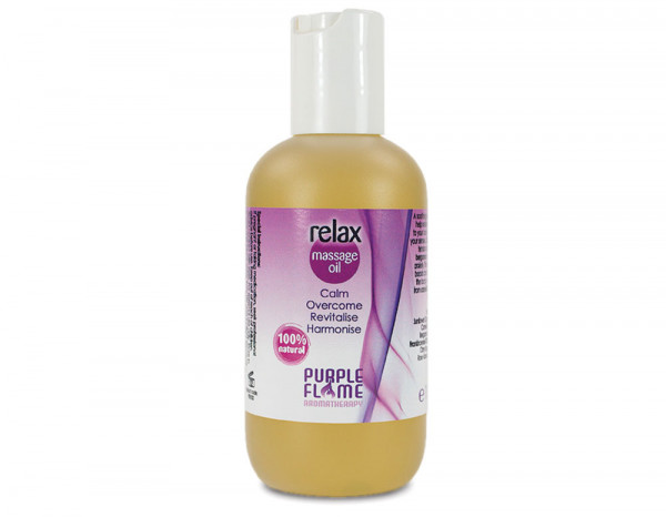 Purple Flame massage oil relax 100ml