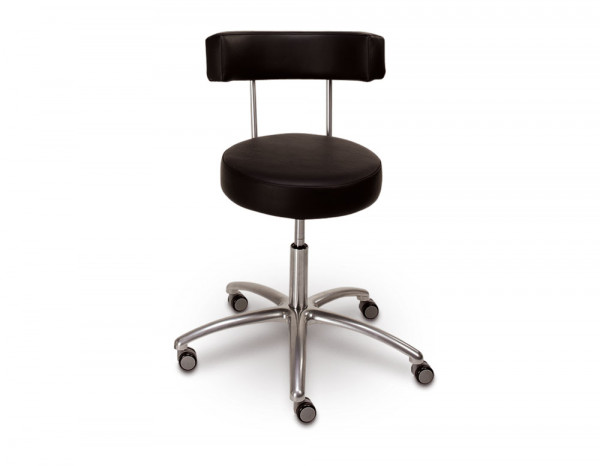 Nail station chair, black
