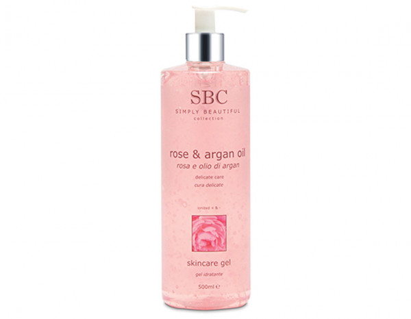 SBC rose and argan oil gel 500ml