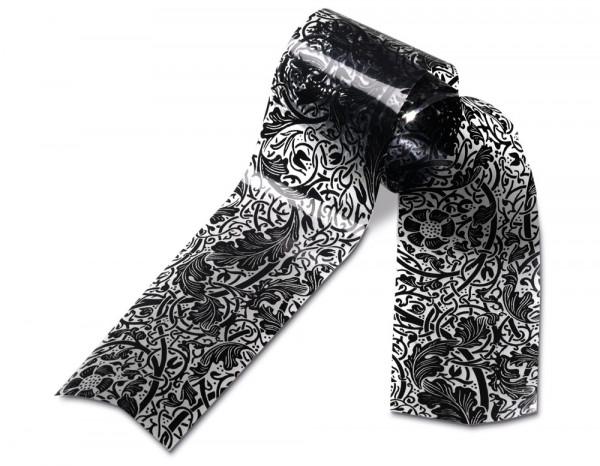 Star Nails metallic wrap 3m, black lace