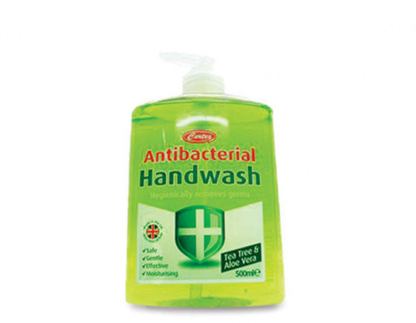 Antibacterial handwash aloe vera/tea tree 500ml