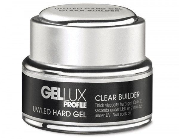 Gellux UV/LED hard gel 15ml, clear builder