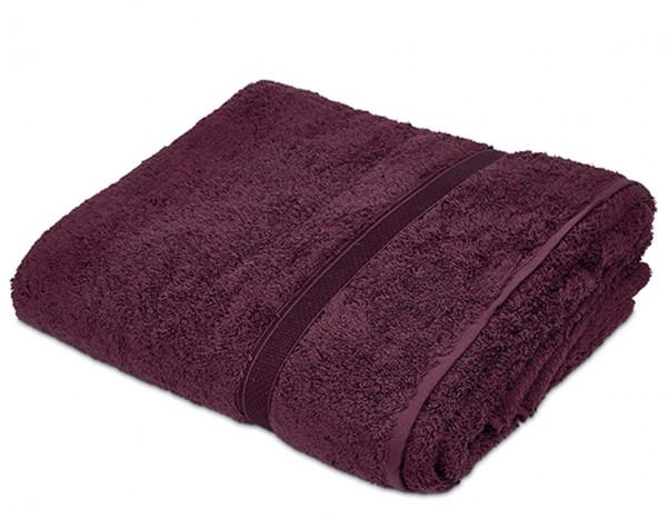 Sumptuous bath sheet XL, aubergine