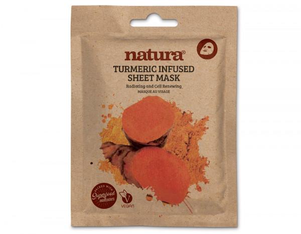 natura tumeric infused mask