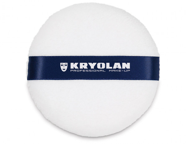 Kryolan powder puff large 9cm diameter