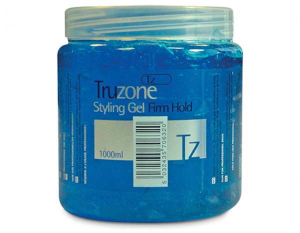 Truzone styling gel firm hold 1L, blue