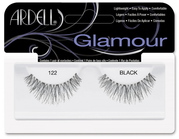 Ardell natural lashes black, 122