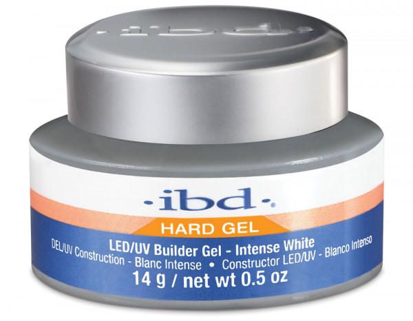 ibd LED/UV builder gel 14g, intense white