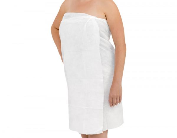 Scrummi waffle body towels, white (20)