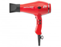 Parlux 3200 compact dryer, raunchy red