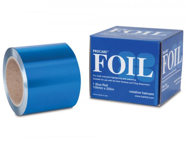 Procare foil, blue 100mm x 225m