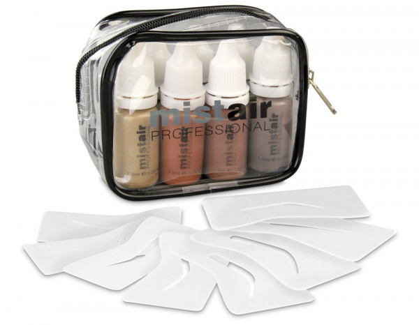 Mistair professional brow pack with stencils