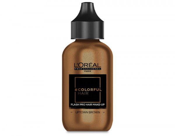 Colorful hair flash pro 60ml, Uptown Brown