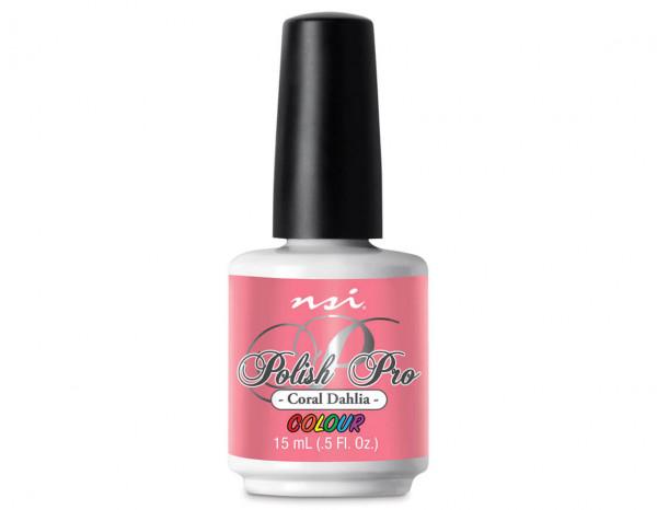 NSI Polish Pro gel 15ml, coral dahlia