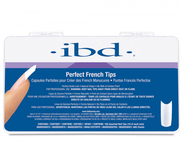 IBD french tips, assorted (100)