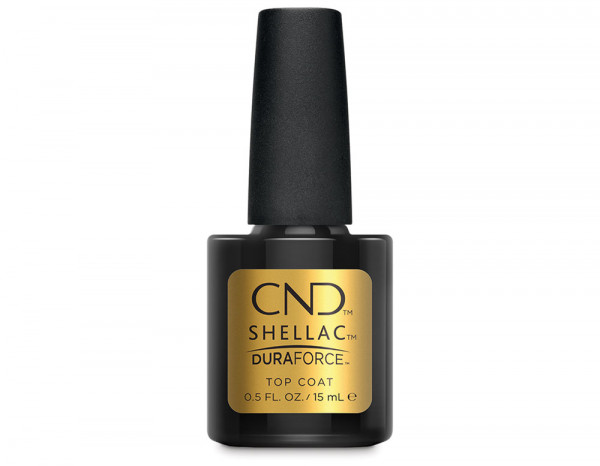 CND Shellac 15ml, DuraForce top coat