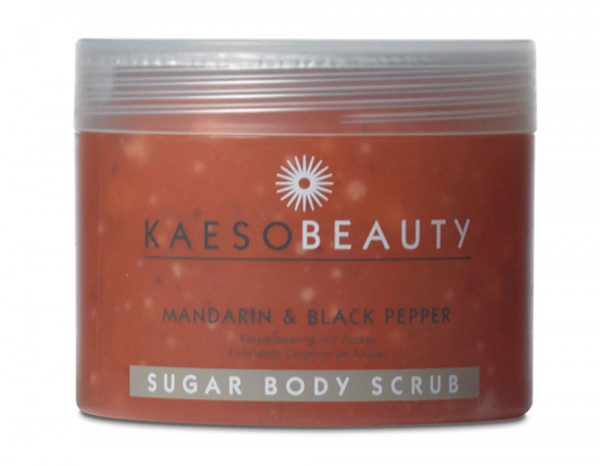 Kaeso mandarin-black pepper sugar body scrub 450ml