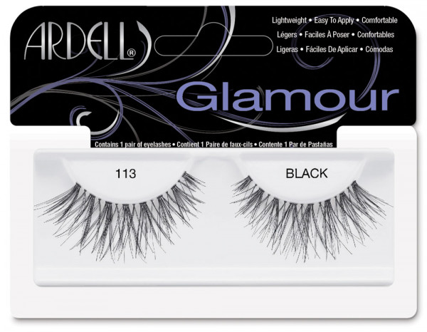 Ardell natural lashes black, 113