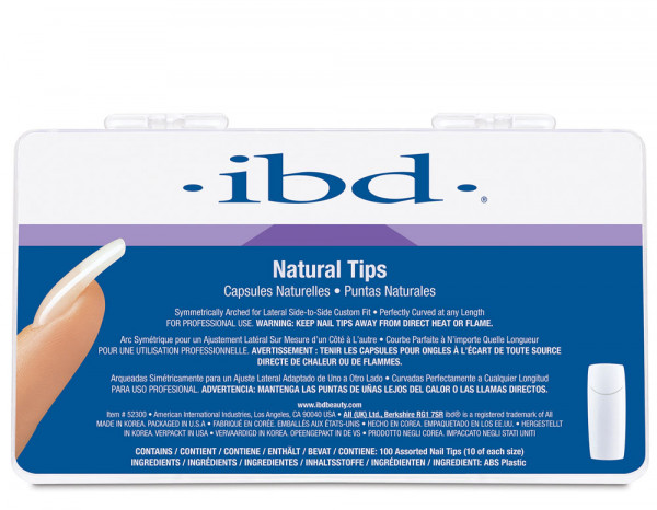 IBD natural tips, assorted (100)