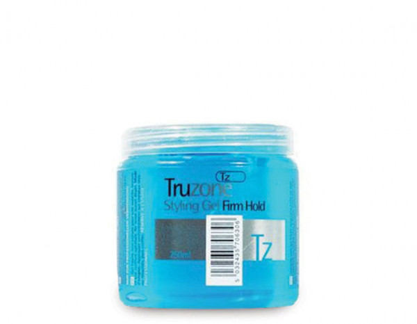Truzone styling gel firm hold 250ml, blue