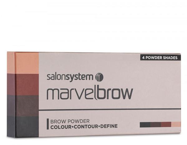 MarvelBrow anti-smudge brow powders