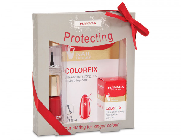 Mavala Christmas gift set, protecting