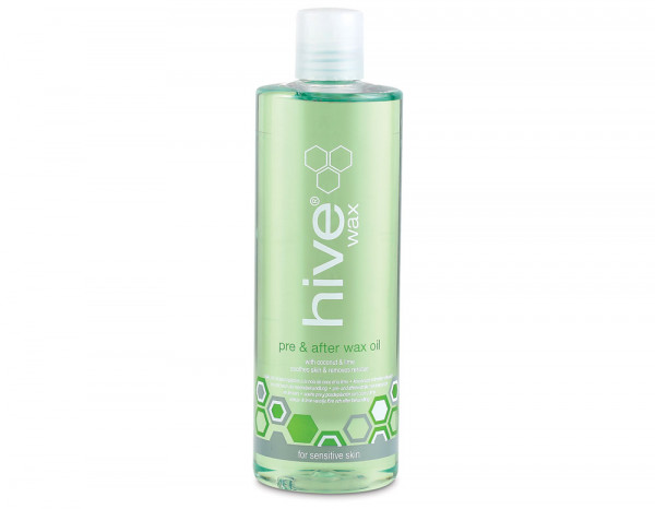 Hive pre & after wax oil with coconut & lime 400ml