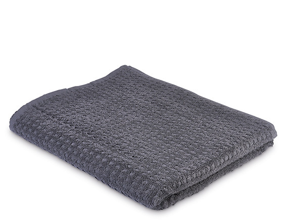 Serenity bath towel, slate grey