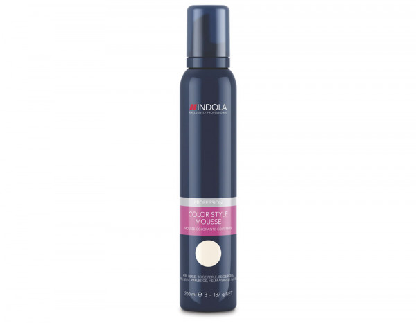 Indola Color Style mousse, pearl beige 200ml