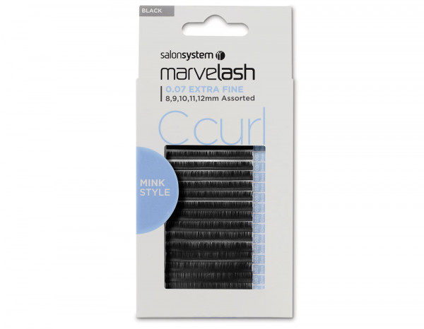 C Curl 0.07 Extra Fine, assorted 8,9,10,11,12mm (M