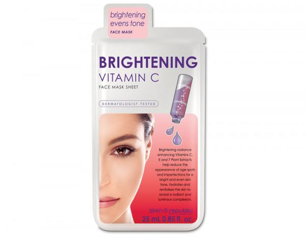 Skin Republic brightening vitamin C mask