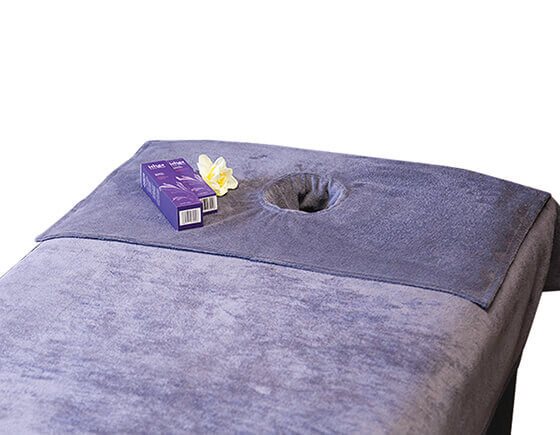 SupremeSoft header towel, slate grey