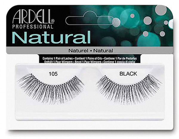 Ardell natural lashes black, 105