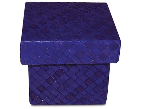 Rattan accessory box small, lilac