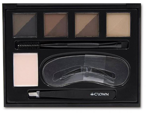 Crownbrush pro eyebrow collection