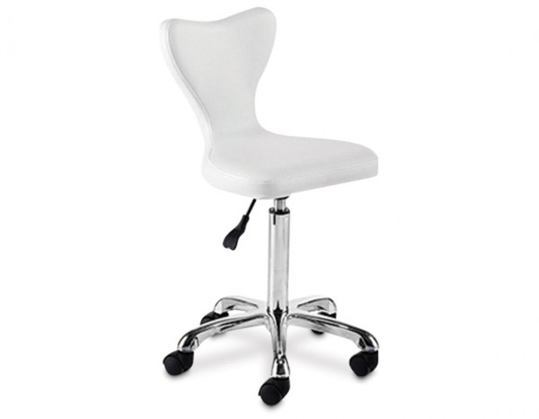 REM express Clover stool, white
