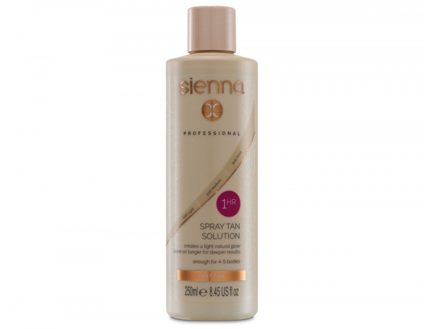 Sienna X 1 hour hit spray tan solution 250ml
