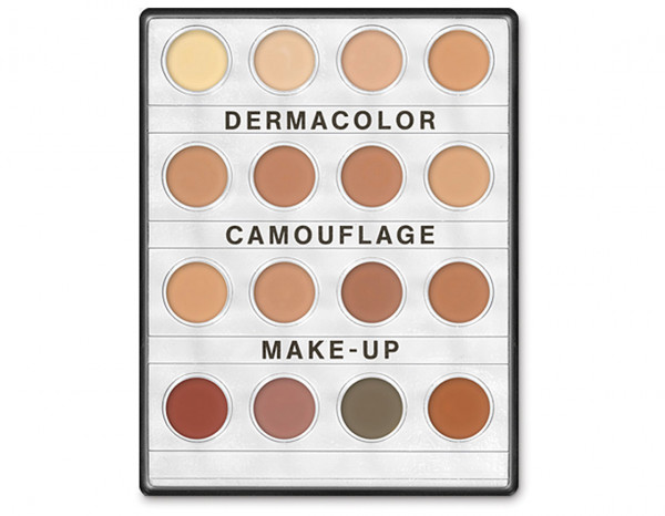 Dermacolor mini palette 16 colours NR2