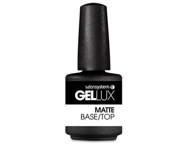 Gellux 15ml, Matte Base/Top Coat