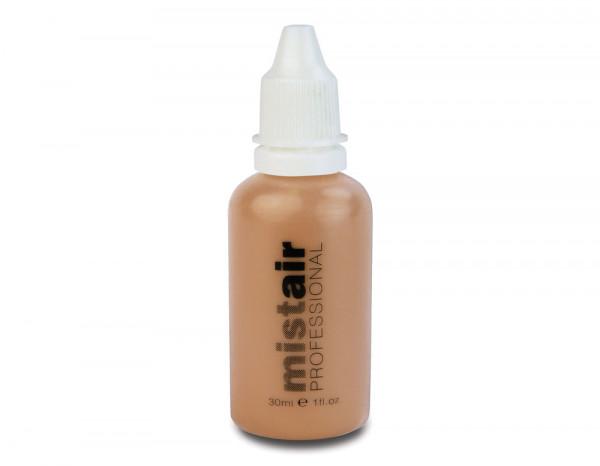 Mistair professional foundation, medium beige 30ml