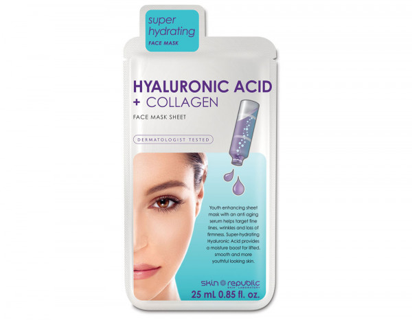 Skin Republic hyaluronic acid and collagen mask